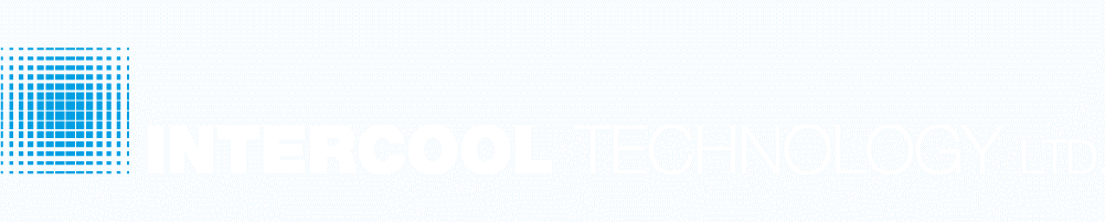 Intercool Technology logo hvid